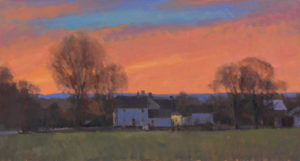 Farmhouse Sunset