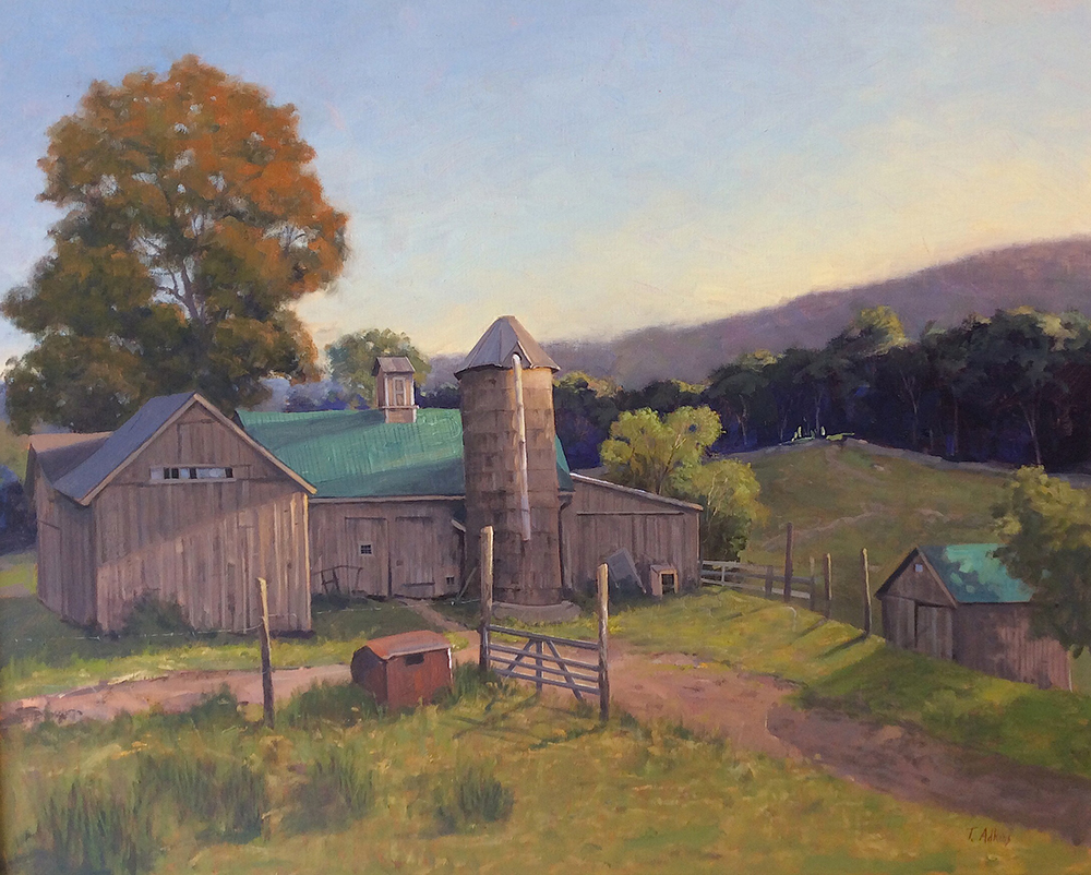 Kent Hollow Farm 24 x 30 $4,800