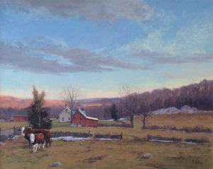 Ludorf Farm Steers 16 x 20 $2,400