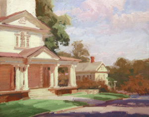 Washington Meetinghouse, 16x20
