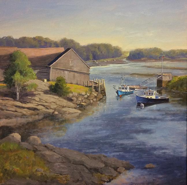 River Mooring 24 x 24, $4,500