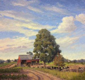 Spring Corn Fields 30 x 30 $6,800