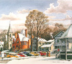 New Milford in Winter