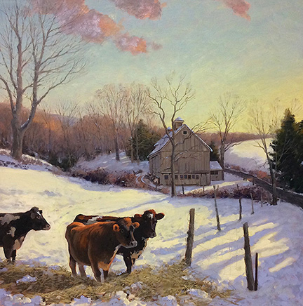 Winter Feeding Roxbury 24 x 24 $4,500