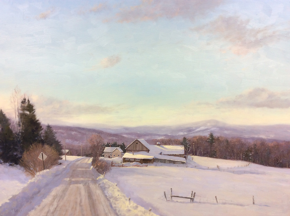 Winter Grip, Northern Farm 30 x 40 $7,800