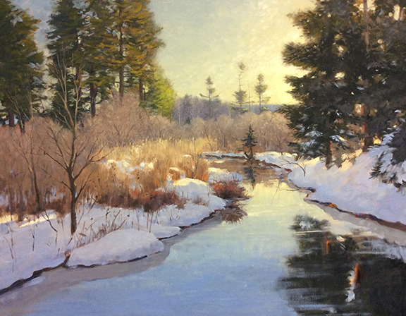 Winter Stream 24 x 30 $4,800