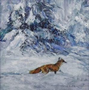 Fresh Snow, 12x12