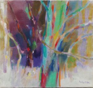 Della-Volpe Green Tree 16x17