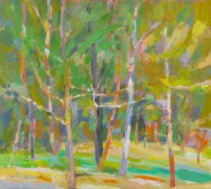 Della-Volpe Young Forest 16x18
