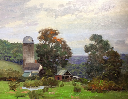 Changing Season, Tanner Farm 11x 14