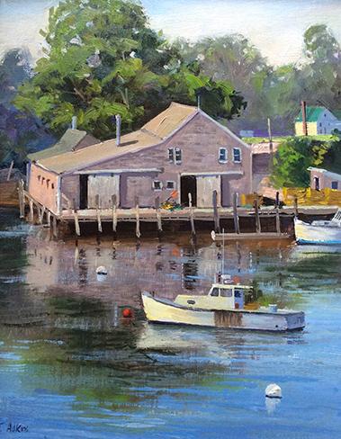 New Harbor 11 x14