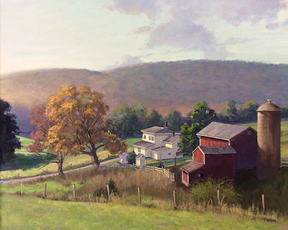 Platt Farm Changing Season 24 x30