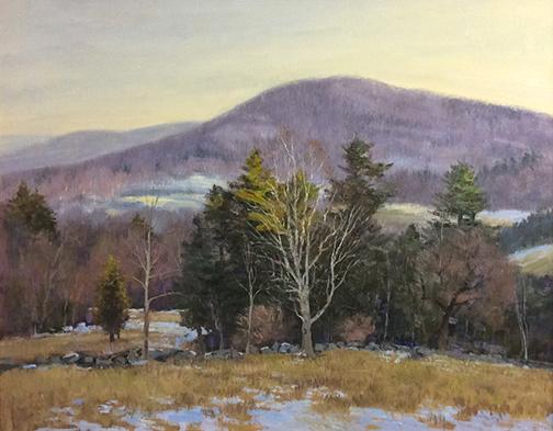 Winter Birch 16 x 20