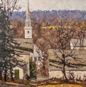 First Congregational Church, Woodbury, CT 18x18 o/c