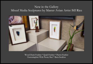 Gregory James Gallery New Milford CT Bill Rice avian art