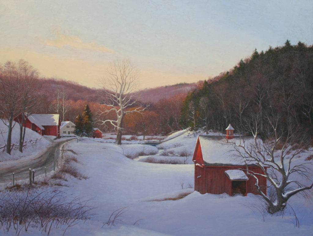 Winter Still<br>14x19 $225<br>20x27 $345 <br>30x40 $525