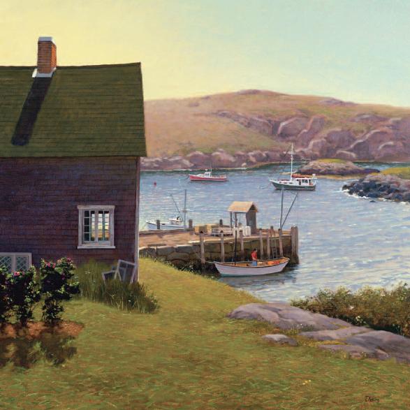 Harbor Evening<br>15x15 $225<br>20x20 $345 <br>30x30 $525