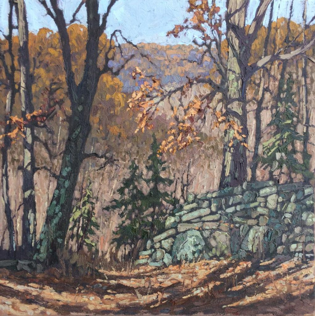 Valley of The Oaks 20x20 oil $2500