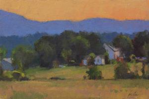 Afterglow, Catskills, 8x12
