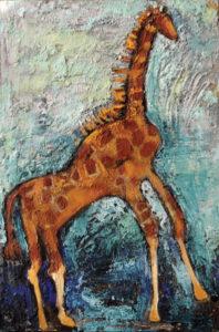 Giraffe, 12x8