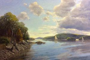 Sailing Candlewood 20x30