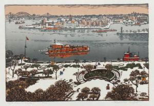 East River in Winter 20-100 wm