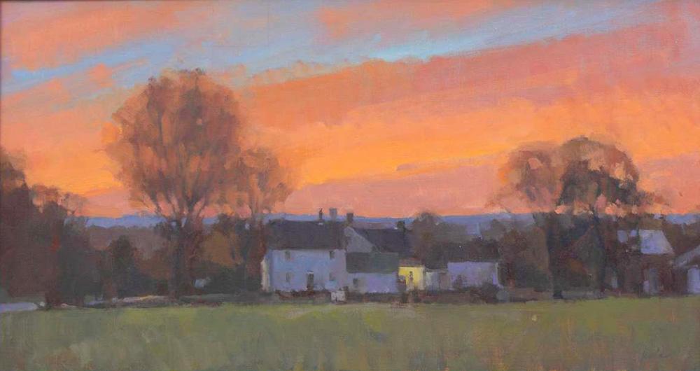 Farmhouse Sunset <br> limited-edition #3/30 <br>14x26  $300<br/>
