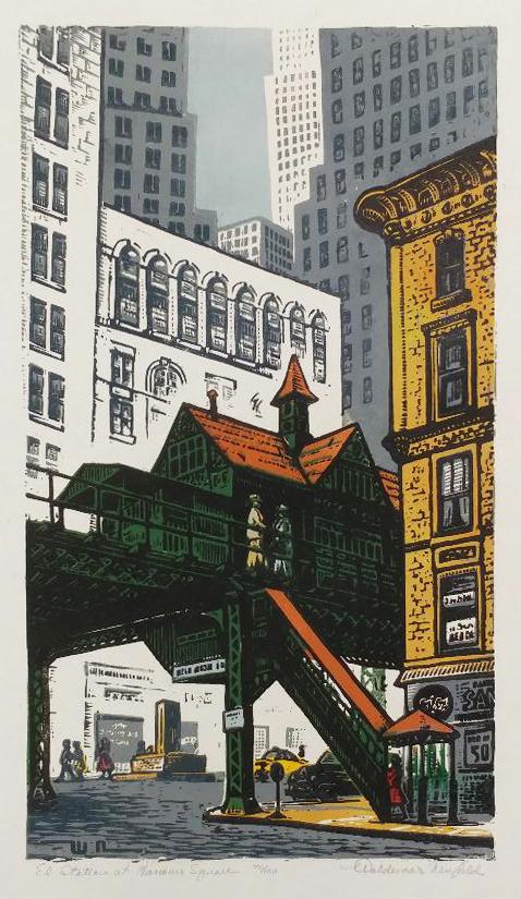 El Station Hanover Square